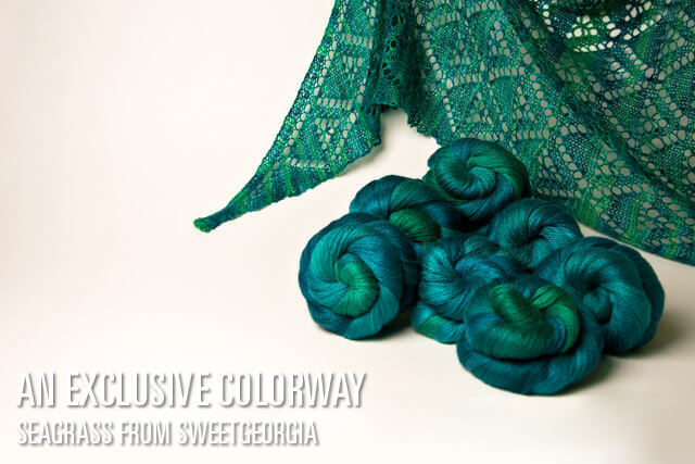 Seagrass: Custom colourway for Knit Purl