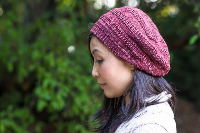 Sneachda Tam by Stefanie Pollmeier, knit in Terra Firma