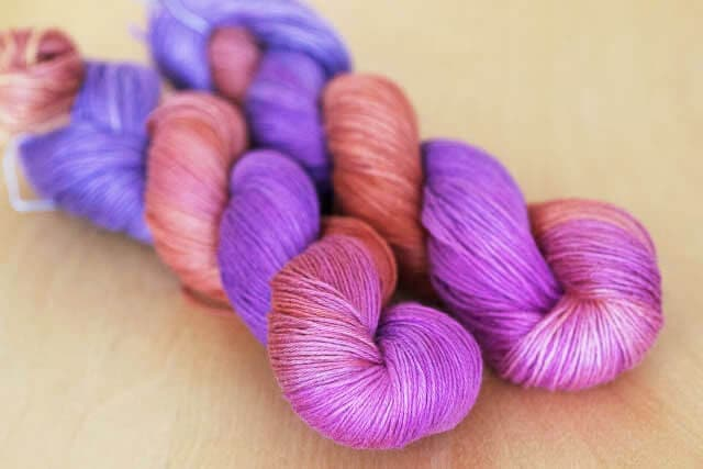 Hanalei Sunset - Jimmy Beans Wool Holiday 2013 Exclusive Colourway