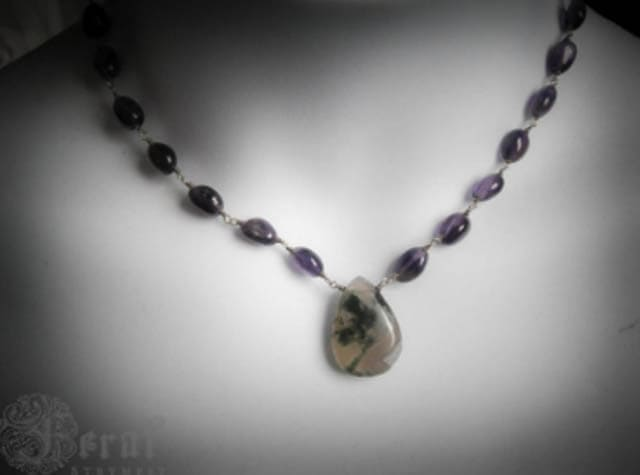 Necklace from FeralStrumpet (Etsy)