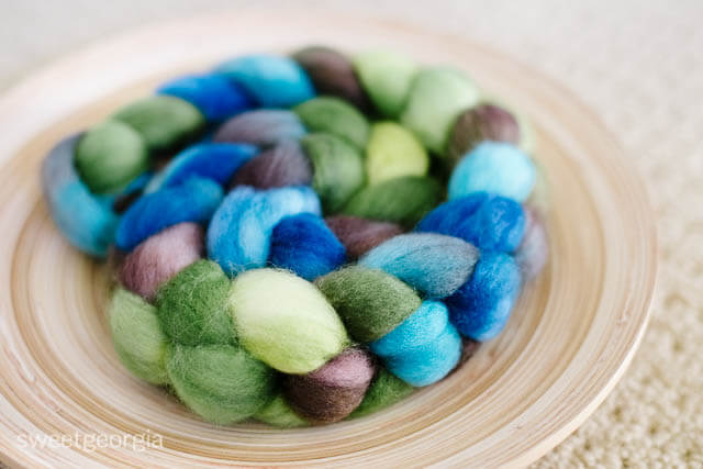 Winter Thaw on Superwash BFL