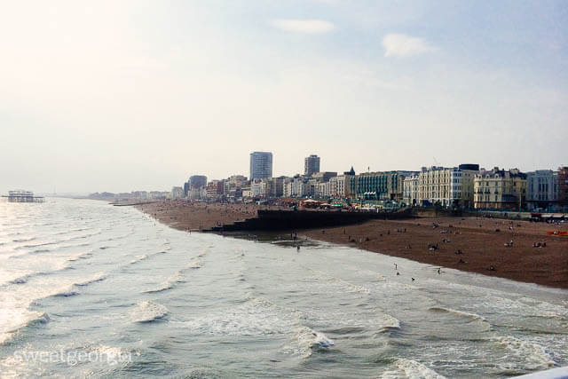 From Brighton Pier