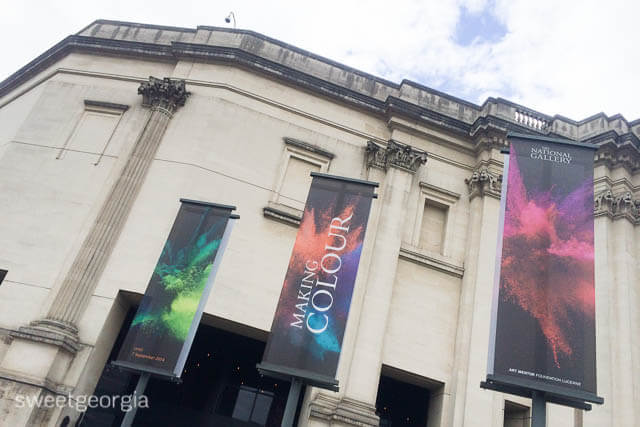 National Gallery: Making Colour Exhibit