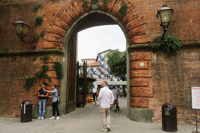 Entrance to the Fortezza da Basso, Firenze