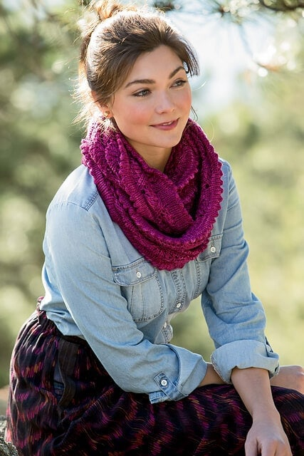 Star House Cowl by Mindy Wilkes