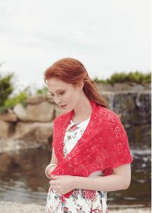 Redbud Shawl by Mindy Wilkes